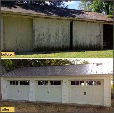 Stoneberger Garage Door Installation Wins National Clopay Contest