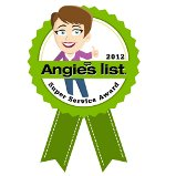 2012 Angie's List Service Award